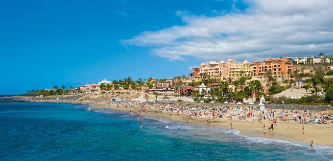 01ANSFFG - Playa del Duque, Costa Adeje, Tenerife, Canary Islands, Spain